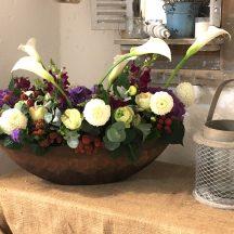 Mûres et fleurs
